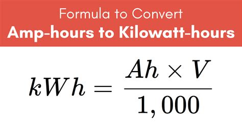 How To Determine Amps And Kilowatt Hrs