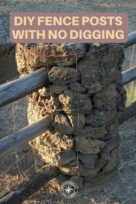 How To Dig A Fence Post In Rocky Soil
