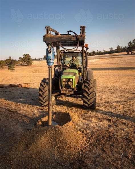 How To Dig A Post Hole With Tractor