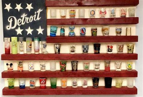 How To Display Your Shot Glasses