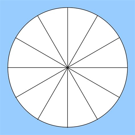 How To Divide A Circle Into 12 Equal Parts Using Set Square