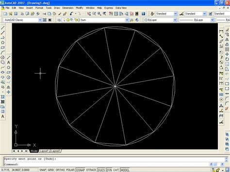 How To Divide A Circle Into Equal Parts In Autocad