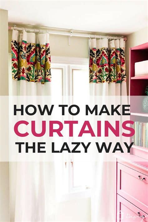 How To Diy A Curtained Bedrooms
