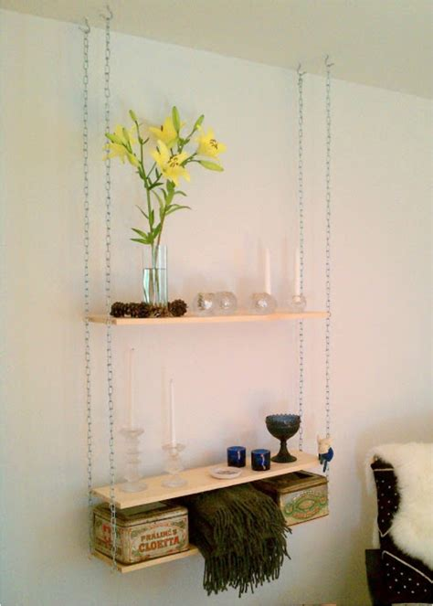 How To Diy Hanging Shelves