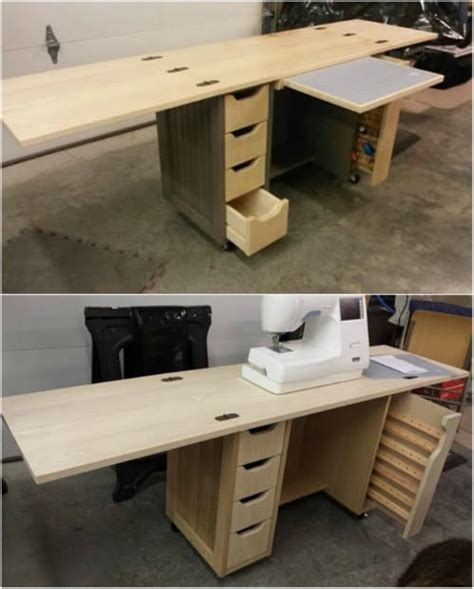 How To Diy Shaker Style Fold Out Desk