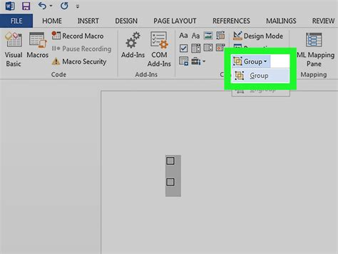 How To Do A Box In Word