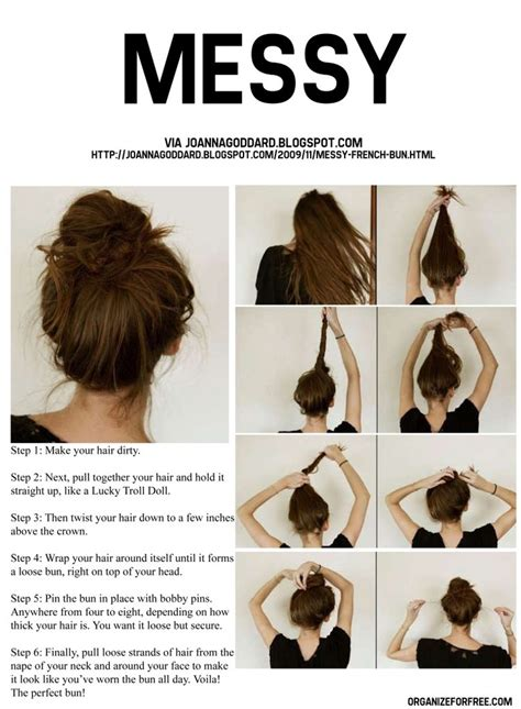 How To Do A Cute Bun With Long Hair