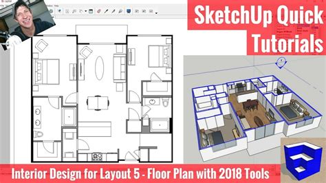 How To Do A Floor Plan In Sketchup