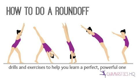 How To Do A Roundoff For Beginners