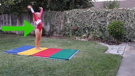 How To Do A Roundoff For Beginners Step By Step