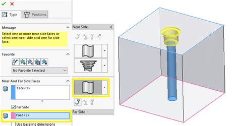 How To Do A Tapered Hole Solidworks
