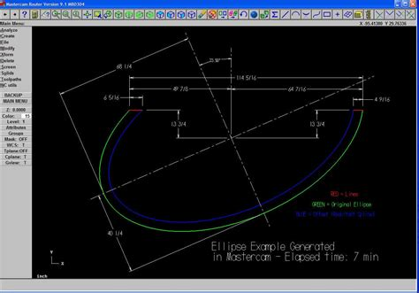 How To Do An Ellipse From Point A To B Cad