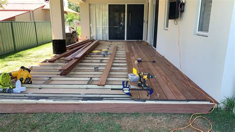 How To Do Decking On Concrete Slab