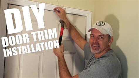 How To Do Door Trim And Youtube