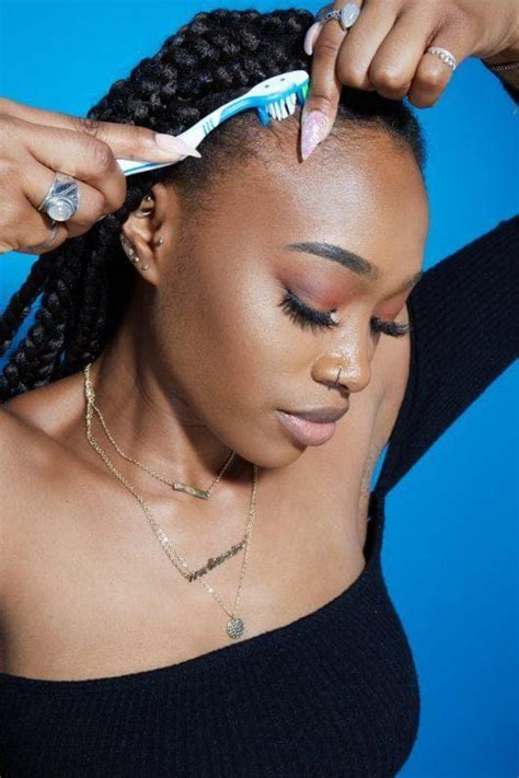 How To Do Edges With Braids