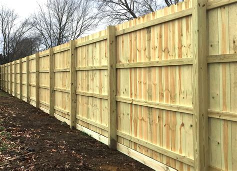 How To Do Fence Posts In Loose Rock