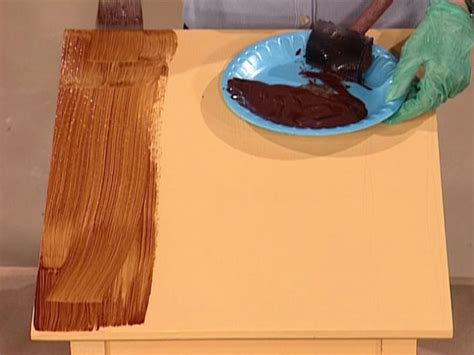 How To Do Wood Grain Painting
