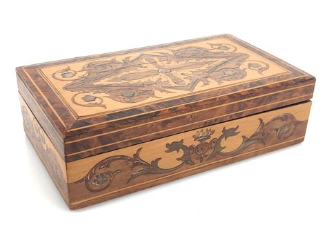 How To Do Wood Inlay On A Box