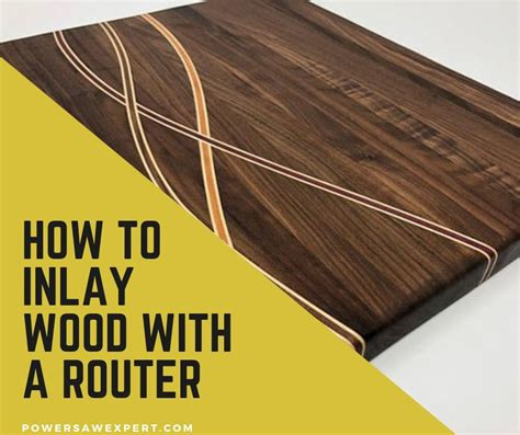 How To Do Wood Inlays With Router