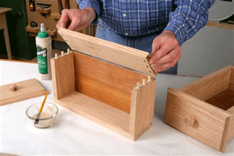 How To Dowel Board Faces