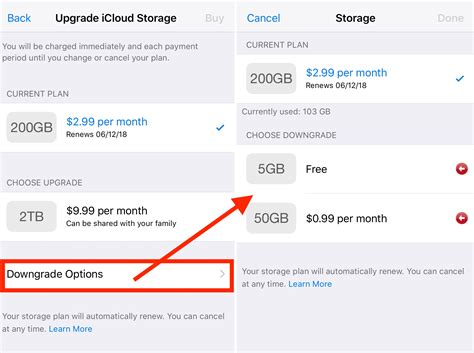How To Downgrade Your Icloud Storage Plan On Pc