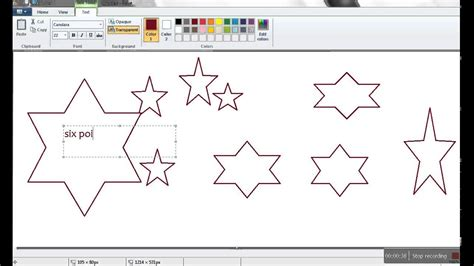 How To Draw A 5 Point Star Microsoft Excel