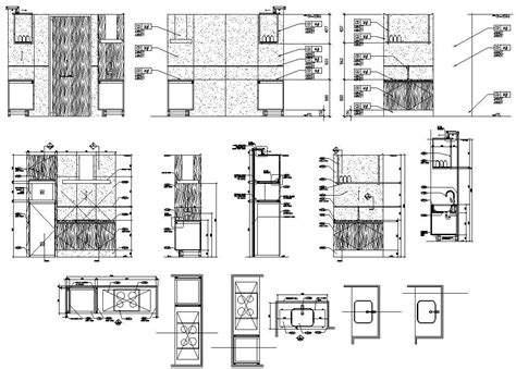 How To Draw A Cabinet In Autocad
