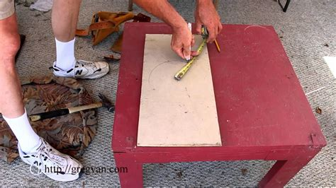 How To Draw A Circle With A Tape Measure