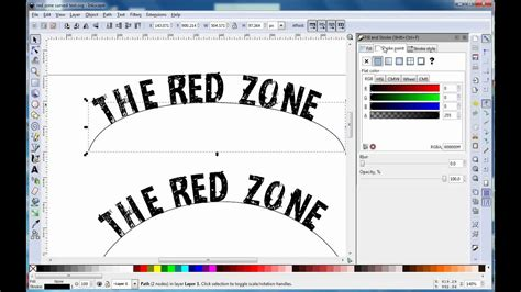 How To Draw A Curve In Inkscape