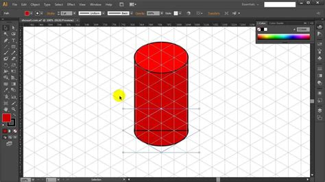 How To Draw A Cylinder In Illustrator