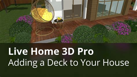 How To Draw A Deck With Live Home 3d