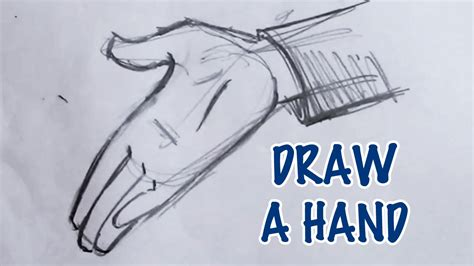 How To Draw A Detailed Hand Step By Step