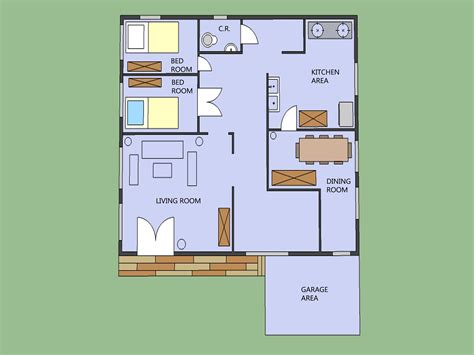 How To Draw A House Plan On My Computer