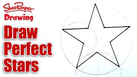 How To Draw A Perfect Star Shape