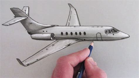 How To Draw A Small Plane Is Flying