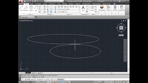 How To Draw An Ellipse Autocad
