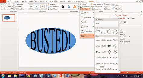 How To Draw An Oval In Word