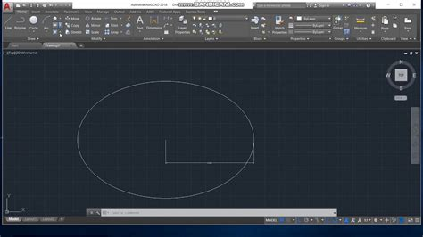 How To Draw Ellipses In Autocad