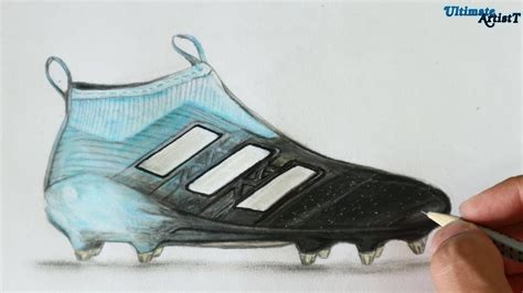 How To Draw Football Cleats