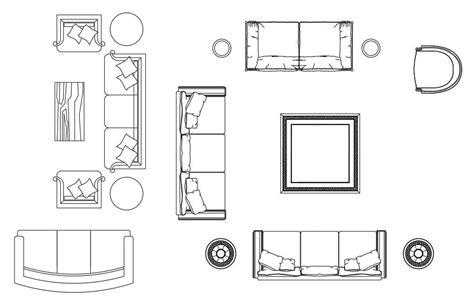How To Draw Furniture In 2d