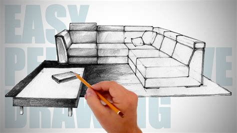 How To Draw Furniture In A Room