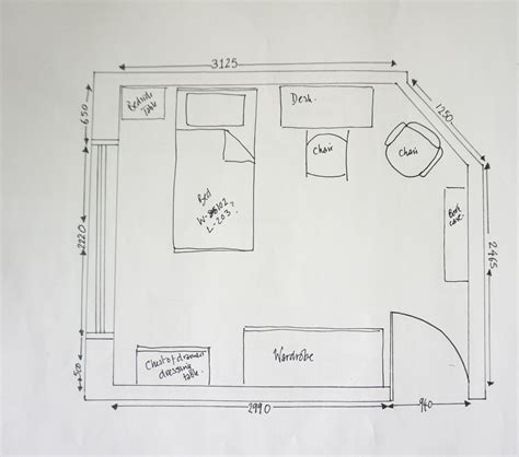 How To Draw Furniture On A Floor Plan