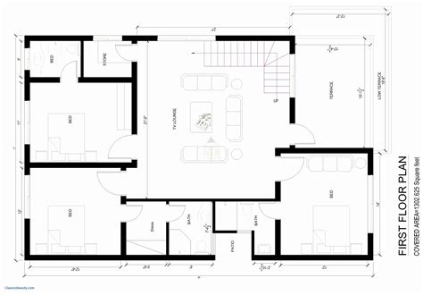 How To Draw House Map In Autocad