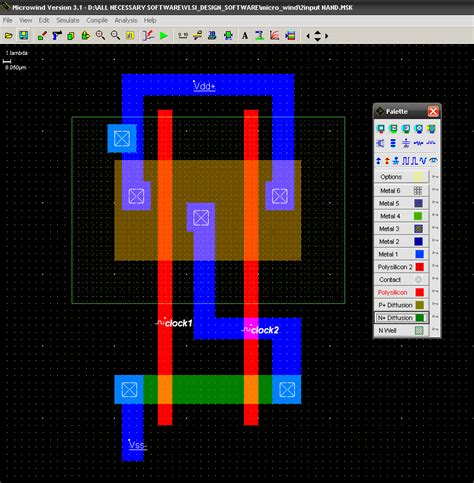 How To Draw Layout Of Nand Logic