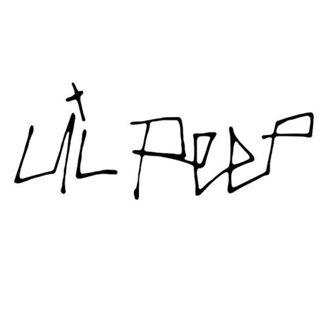 How To Draw Lil Peep Name In Cool Words