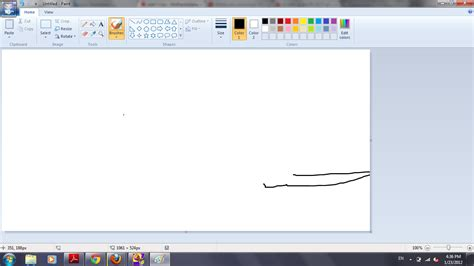 How To Draw On Windows 7 Paint With Mouse