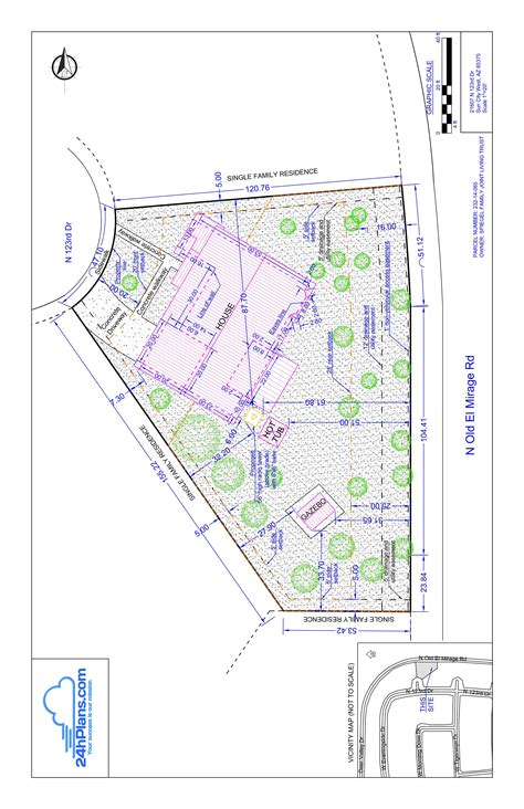 How To Draw Site Plan