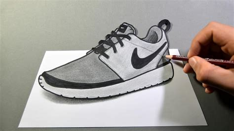 How To Draw Sneakers Nike