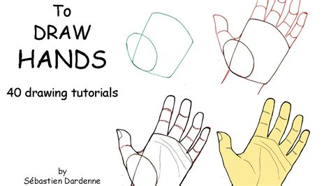 How To Draw The Back Of A Hand Step By Step