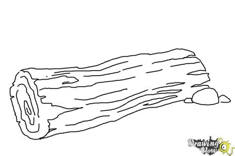 How To Draw Wood Logs